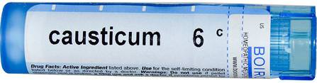 Single Remedies, Causticum, 6C, Approx 80 Pellets by Boiron, 感冒和流感,孩子們 HK 香港