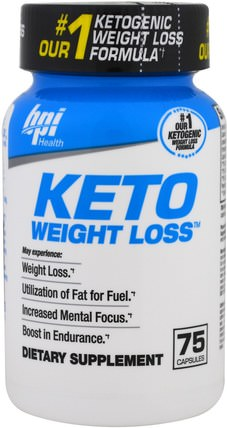 Keto Weight Loss, 75 Capsules by BPI Sports, 食物,酮友好,7酮 HK 香港