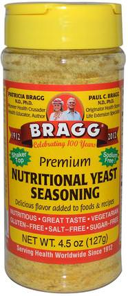 Premium Nutritional Yeast Seasoning, 4.5 oz (127 g) by Bragg, 健康 HK 香港