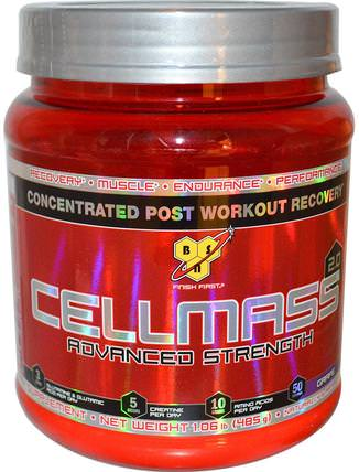 Cellmass 2.0, Concentrated Post Workout Recovery, Grape, 1.06 lbs (485 g) by BSN, 運動,運動,肌肉 HK 香港