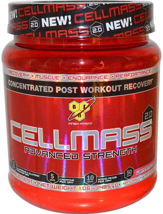 Cellmass 2.0, Concentrated Post Workout Recovery, Watermelon, 1.06 lbs (485 g) by BSN, 運動,運動,肌肉 HK 香港