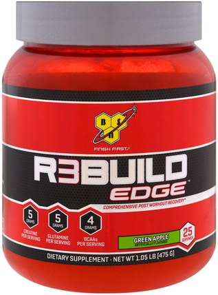 Rebuild Edge, Green Apple, 1.05 lb (475 g) by BSN, 運動,運動 HK 香港