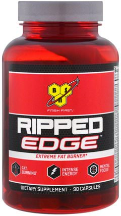 Ripped Edge, 90 Capsules by BSN, 減肥,飲食,健康,能量 HK 香港