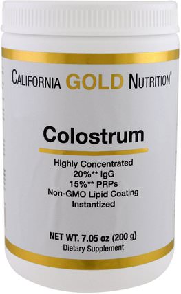 CGN, Colostrum, 7.05 oz (200 g) by California Gold Nutrition, cgn初乳 HK 香港