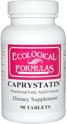 Ecological Formulas, Caprystatin, 90 Tablets by Cardiovascular Research Ltd., 補品,礦物質,鎂,辛酸 HK 香港