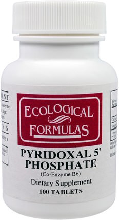 Pyridoxal 5 Phosphate, 100 Tablets by Cardiovascular Research Ltd., 維生素,維生素b,維生素b6 - 吡哆醇 HK 香港