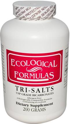 Tri-Salts, 200 g by Cardiovascular Research Ltd., 補充劑,礦物質,鈣和鎂,鉀 HK 香港