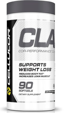 Cor-Performance, CLA, 90 Softgels by Cellucor, 減肥,飲食,cla(共軛亞油酸) HK 香港