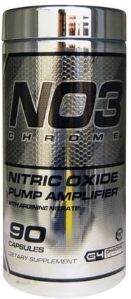 NO3 Chrome, Nitric Oxide Pump Amplifier, 90 Capsules by Cellucor, 運動,鍛煉,一氧化氮 HK 香港