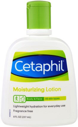 Moisturizing Lotion, 8 fl oz (237 ml) by Cetaphil, 美容,面部護理,面霜,乳液,沐浴,潤膚露 HK 香港