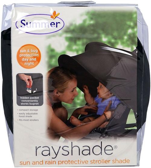 兒童健康,嬰兒,兒童,嬰兒旅行配件 - Summer Infant, Rayshade, Sun and Rain Protective Stroller Shade, 1 Piece