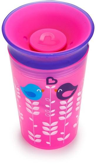 兒童健康,兒童食品 - Munchkin, Miracle 360, Tasse Sippy Cup, 12+ Months, 9 oz (266 ml)
