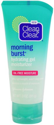 Morning Burst Hydrating Gel Moisturizer, 3 oz (85 g) by Clean & Clear, 美容,面部護理,面霜,乳液 HK 香港