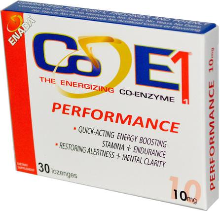 The Energizing Co-Enzyme, Performance, 10 mg, 30 Lozenges by Co - E1, 補充劑,nadh HK 香港