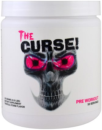 The Curse, Pre Workout, Tropical Storm, 0.55 lbs (250 g) by Cobra Labs, 健康,能量,運動 HK 香港
