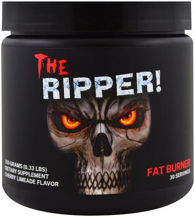 The Ripper, Fat Burner, Cherry Limeade Flavor, 0.33 lbs (150 g) by Cobra Labs, 運動,減肥,飲食,脂肪燃燒器 HK 香港