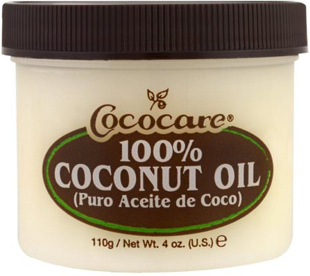 100% Coconut Oil, 4 oz (110 g) by Cococare, 沐浴,美容,椰子油皮 HK 香港