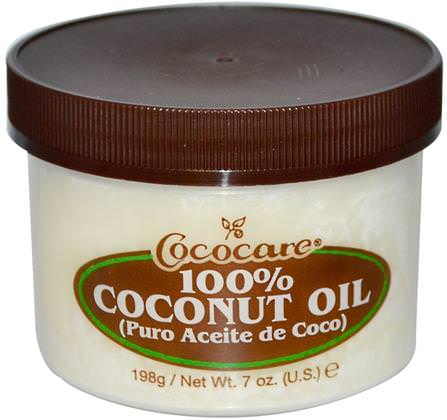 100% Coconut Oil, 7 oz (198 g) by Cococare, 沐浴,美容,椰子油皮 HK 香港