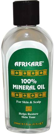 Africare, 100% Mineral Oil, 8.5 fl oz (250 ml) by Cococare, 健康,皮膚,按摩油 HK 香港