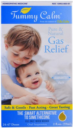 Tummy Calm, Gas Relief, 2 fl oz (59 ml) by Colic Calm, 兒童健康,抱怨水絞痛 HK 香港