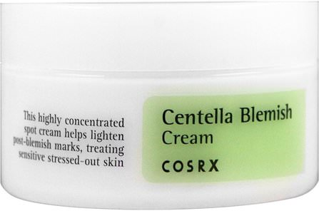 Centella Blemish Cream, 1.05 oz (30 g) by Cosrx, 洗澡,美容,化妝 HK 香港