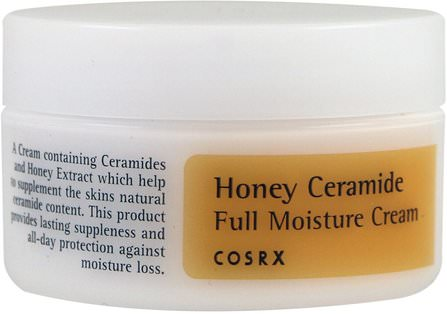Honey Ceramide Full Moisture Cream, 50 ml by Cosrx, 美容,面部護理 HK 香港