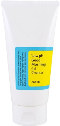 Low pH Good Morning Gel Cleanser, 150 ml by Cosrx, 美容,面部護理 HK 香港