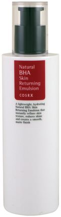 Natural BHA Skin Returning Emulsion, 100 ml by Cosrx, 洗澡,美容,健康 HK 香港
