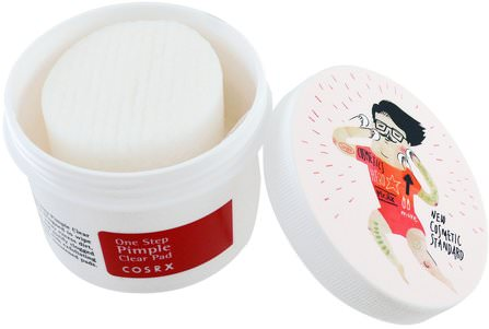 One Step Pimple Clear Pad, 70 Pads, (135 ml) by Cosrx, 沐浴,美容,粉刺外用產品 HK 香港