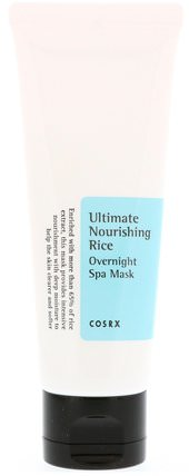 Ultimate Nourishing Rice, Overnight Spa Mask, 2.02 fl oz (60 ml) by Cosrx, 美容,面膜 HK 香港