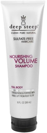 Nourishing Volume Shampoo, Full Body, 10 fl oz (295 ml) by Deep Steep, 洗澡,美容,頭髮,頭皮,洗髮水,護髮素 HK 香港