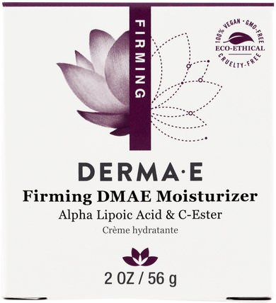 Firming DMAE Moisturizer, with Alpha Lipoic and C-Ester, 2 oz (56 g) by Derma E, 健康,女性,α硫辛酸乳膏噴霧,dmae HK 香港