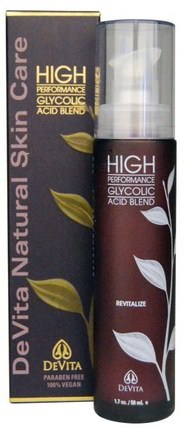 High Performance Glycolic Acid Blend, 1.7 oz (50 ml) by DeVita, 美容,面部護理,面霜,乳液,抗皺霜,皮膚 HK 香港