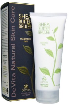 Shea Butter Brule, Fragrance Free, 7 oz (210 ml) by DeVita, 健康,皮膚,妊娠紋疤痕,沐浴,美容,潤膚露 HK 香港
