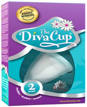 The Diva Cup, Model 2, 1 Menstrual Cup by Diva International, 健康 HK 香港