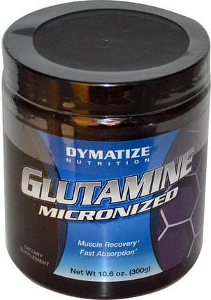Glutamine Micronized, 10.6 oz (300 g) by Dymatize Nutrition, 補充劑,氨基酸,l谷氨酰胺,l谷氨酰胺粉末,運動,運動 HK 香港