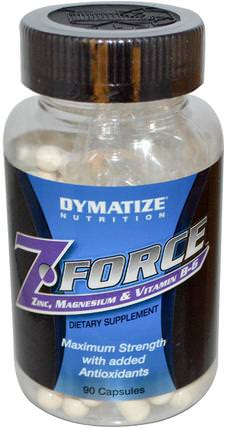 ZForce, 90 Capsules by Dymatize Nutrition, 補充劑,合成代謝補品,礦物質 HK 香港