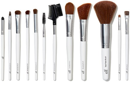 Essential Professional Complete Brush Set, 12 Brushes by E.L.F. Cosmetics, 工具/刷子 HK 香港