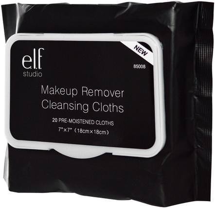 Makeup Remover Cleansing Cloths, 20 Pre-Moistened Cloths by E.L.F. Cosmetics, 皮膚護理 HK 香港