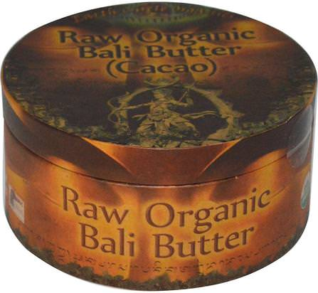 Raw Organic Bali Butter (Cacao), 250 g by Earth Circle Organics, 健康,皮膚,可可脂,食品,可可(可可)巧克力 HK 香港
