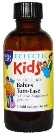 Babies Tum-Ease, 2 fl oz (60 ml) by Eclectic Institute, 兒童健康,嬰兒,嬰兒補品,健康 HK 香港