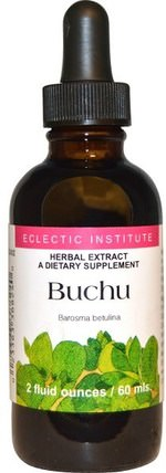 Buchu, 2 fl oz (60 ml) by Eclectic Institute, 草藥,buchu HK 香港
