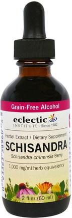 Eclectic Institute, Schisandra, 2 fl oz (60 ml) 草藥,五味子(五味子)
