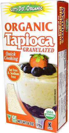 Organic Tapioca Granulated, 6 oz (170 g) by Edward & Sons, 食品,麵粉和混合物,木薯粉 HK 香港