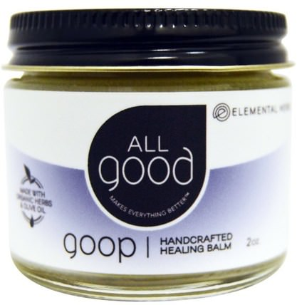 All Good, Goop, Handcrafted Healing Balm, 2 oz by All Good Products, 健康,皮膚,傷害燒傷 HK 香港