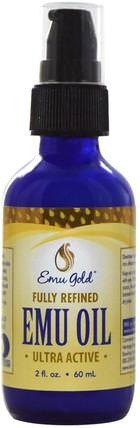 Emu Oil, 2 fl oz (60 ml) by Emu Gold, 健康,皮膚,鴯oil油,美容,面部護理 HK 香港