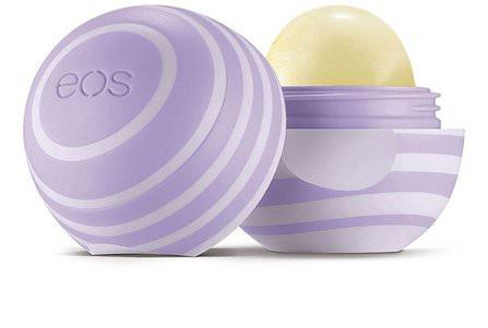 EOS, Visibly Soft Lip Balm Sphere, Blackberry Nectar, 0.25 oz (7 g) 洗澡,美容,唇部護理,唇膏