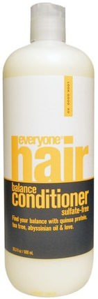 Hair Balance Conditioner, Sulfate-Free, 20.3 fl oz (600 ml) by Everyone, 洗澡,美容,頭髮,頭皮,洗髮水,護髮素,護髮素 HK 香港