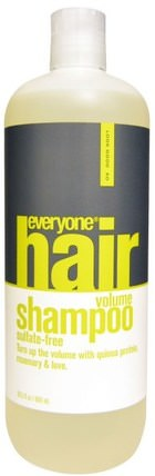 Hair Volume Shampoo, Sulfate Free, 20.3 fl oz (600 ml) by Everyone, 洗澡,美容,頭髮,頭皮,洗髮水,護髮素 HK 香港