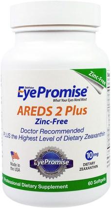 AREDS 2 Plus, 60 Softgels by EyePromise, 健康,眼保健,視力保健,視力 HK 香港